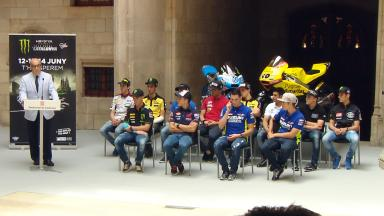 Official Presentation of the #CatalanGP at the Generalitat of Catalunya