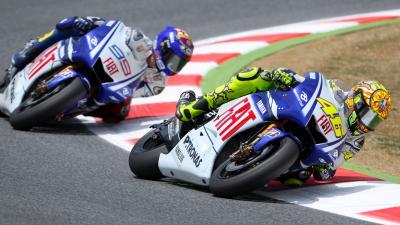 CatalanGP: Rossi und Lorenzo 2009