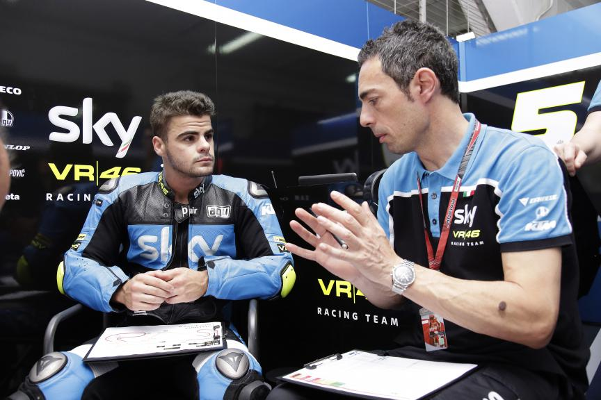 Romano Fenati, Sky Racing Team VR46 - Catalan GP Practice