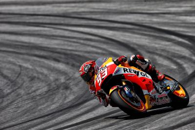 Marquez and Pedrosa head FP1