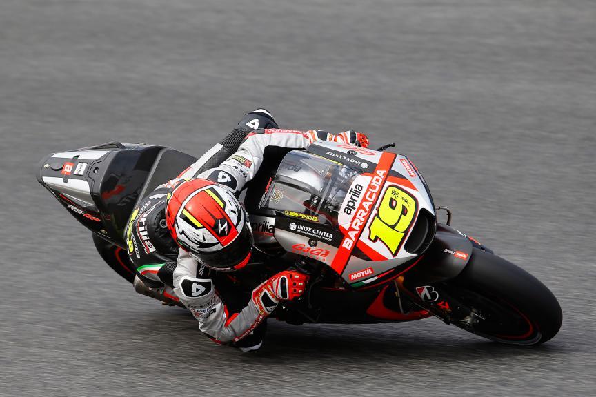 Alvaro Bautista, Aprilia Racing Team Gresini - Catalan GP Practice