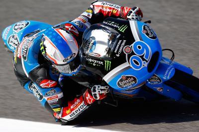Navarro fährt erste Bestezeit in Moto3™ FP1