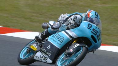 Kent ends first day of Moto3™ practice on top