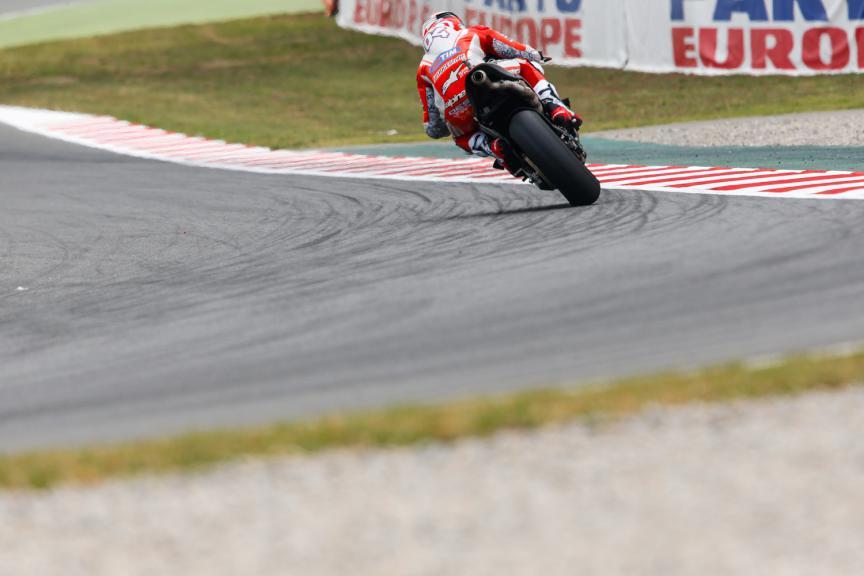 Andrea Dovizioso, Ducati Team - Catalan GP, MotoGP FP2