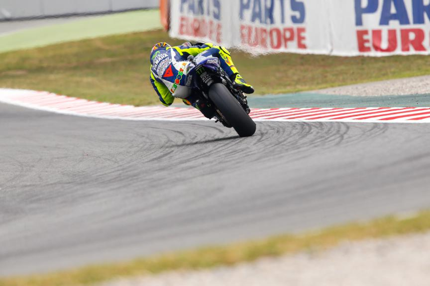 Valentino Rossi, Movistar Yamaha MotoGP - Catalan GP, MotoGP FP2