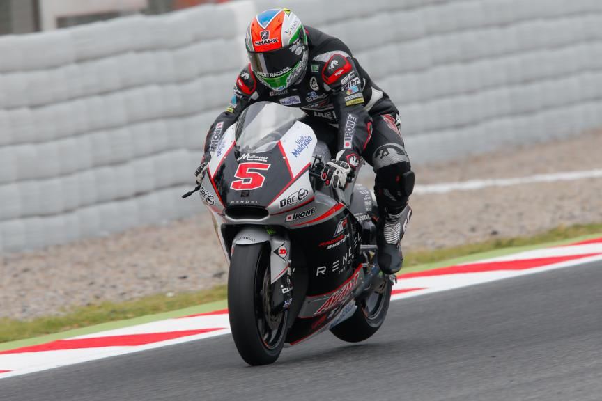 Johann Zarco, Ajo Motorsport - Catalan GP Moto2 FP1