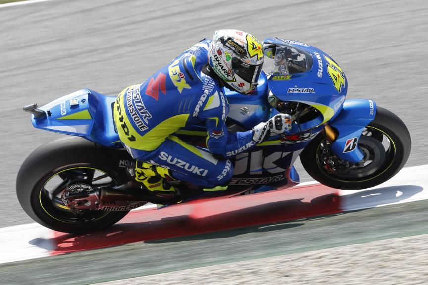 Aleix Espargaro, Team SUZUKI ECSTAR - Catalan GP, MotoGP FP2