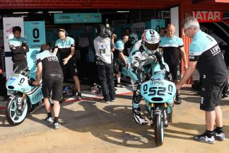 Kent termina primeiro dia na Catalunha na frente na Moto3™