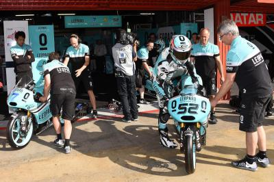 Tight top five battle emerges in Moto3™