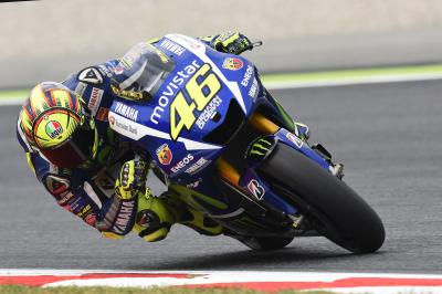 Rossi hors du Top 10 vendredi à Montmeló