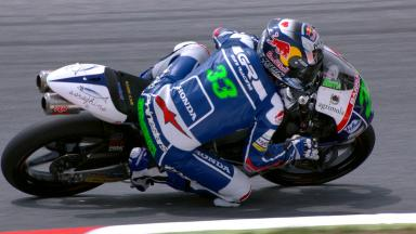 Bastianini claims maiden Moto3™ pole