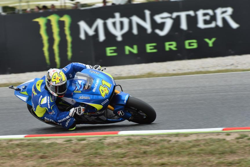 Aleix Espargaro, Team SUZUKI ECSTAR - Catalan GP, MotoGP Q2