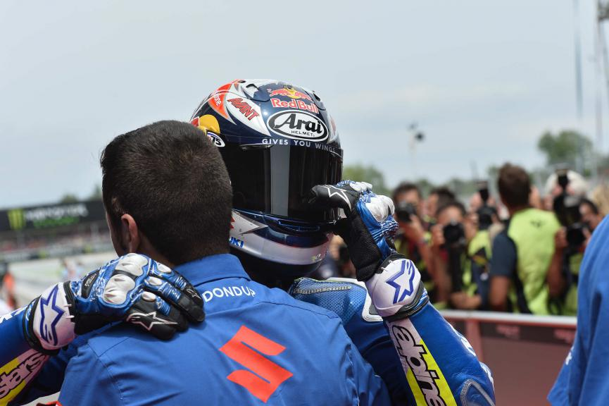 Maverick Viñales, Team SUZUKI ECSTAR - Catalan GP, MotoGP Q2