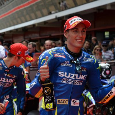 "Aleix Espargaro: ""I almost crashed"""