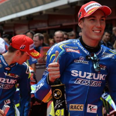Suzuki hace historia en el GP Monster Energy de Catalunya