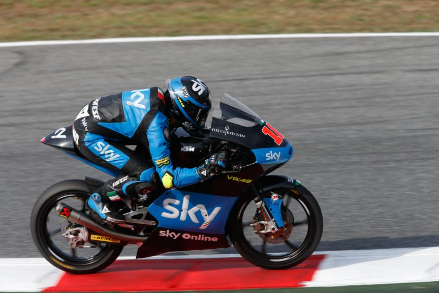 Andrea Migno, SKY Racing Team VR46 - Catalan GP, Moto3 QP