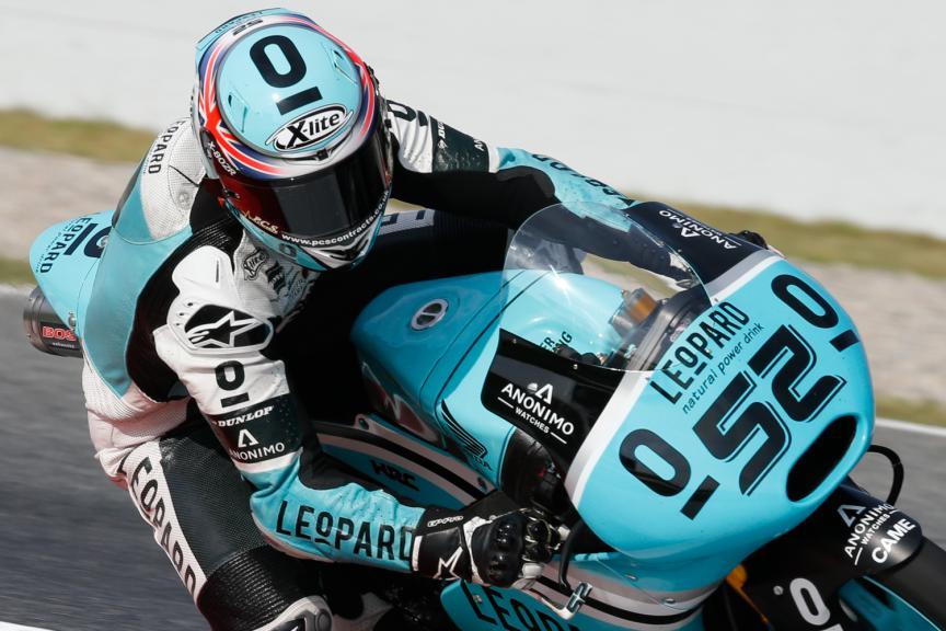 Danny Kent, Leopard Racing - Catalan GP, MotoGP QP
