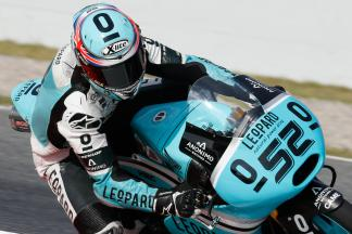 "Kent: ""It was difficult, all Moto3™ Qualifying is"""