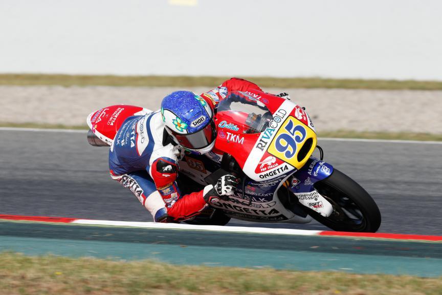 Jules Danilo, Ongetta-Rivacold - Catalan GP, Moto3 QP