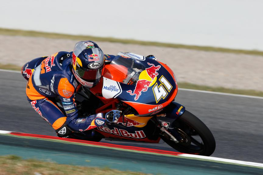 Brad Binder, Red Bull KTM Ajo - Catalan GP, Moto3 QP