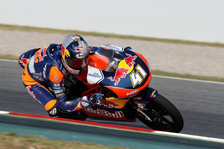 Brad Binder, Red Bull KTM Ajo - Catalan GP, Moto3 QP