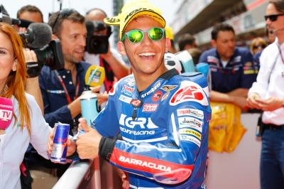 """Bastianini: """"This is my first pole"""""""