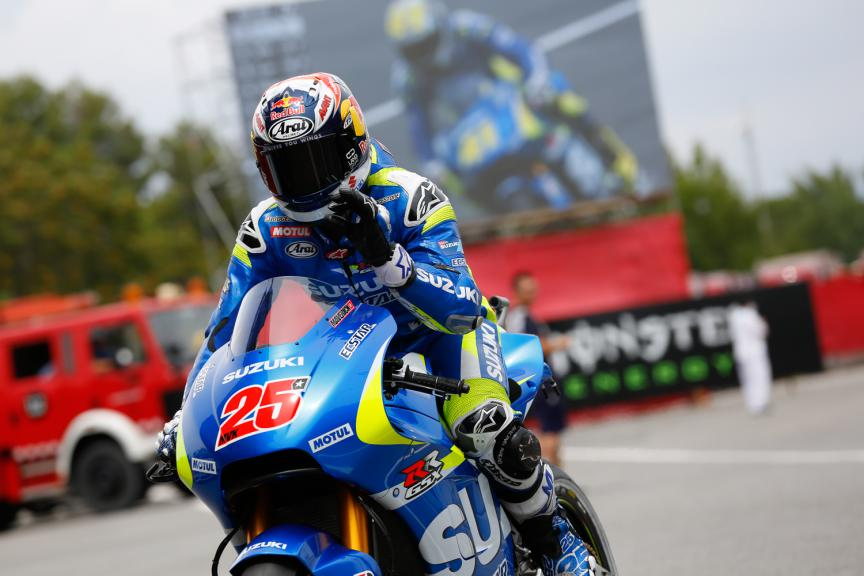 Maverick Viñales, Team SUZUKI ECSTAR - Catalan GP, MotoGP Q