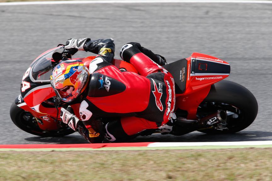 Jonas Folger, AGR Team - Catalan GP, Moto2 QP