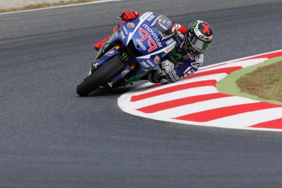 Lorenzo demonstrates demonic pace in practice