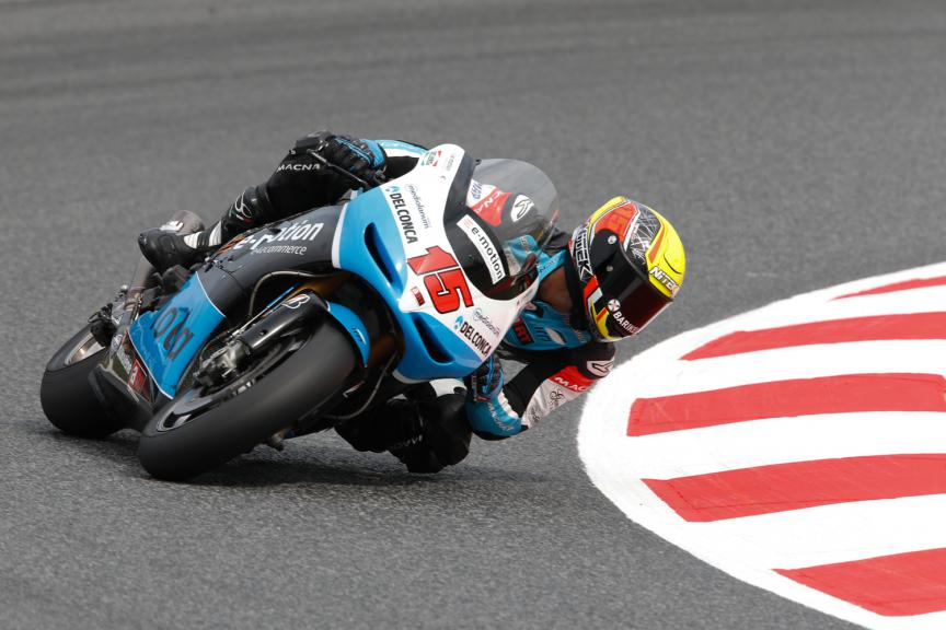 Alex De Angelis, E-Motion IodaRacing Team - Catalan GP, MotoGP Q