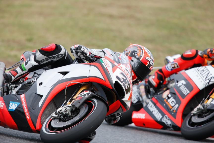 Marco Melandri, Aprilia Racing Team Gresini - Catalan GP, MotoGP Q