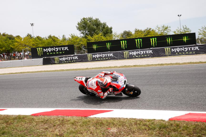 Andrea Dovizioso, Ducati Team - Catalan GP, MotoGP Q2