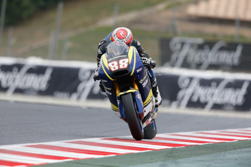 Ricky Cardus, Tech3 - Catalan GP, Moto2 QP