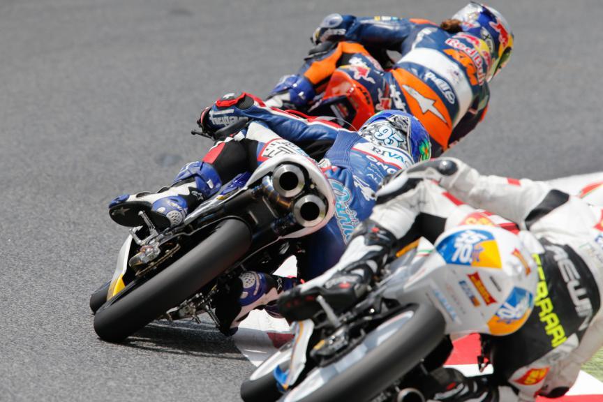 Moto3 Action - Catalan GP, Moto3 QP