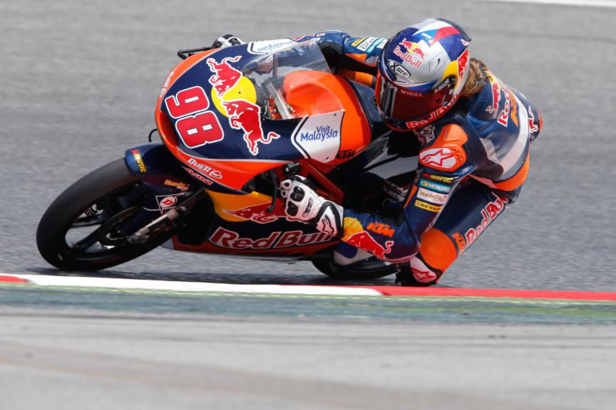 Karel Hanika, Red Bull KTM Ajo - Catalan GP, Moto3 QP