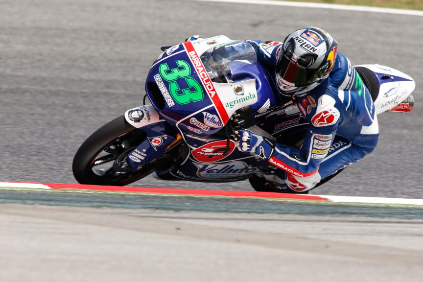Enea Bastianini, Gresini Racing Team Moto3 - Catalan GP, Moto3 QP