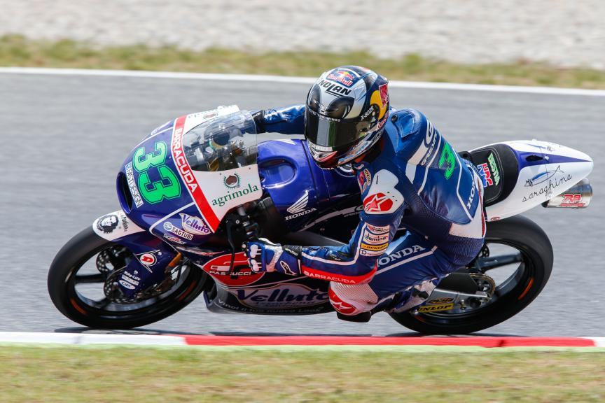 Enea Bastianini, Gresini Racing Team Moto3 - Catalan GP, Moto3 FP3