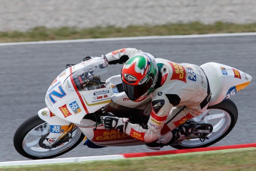 - Catalan GP, Moto3 QP