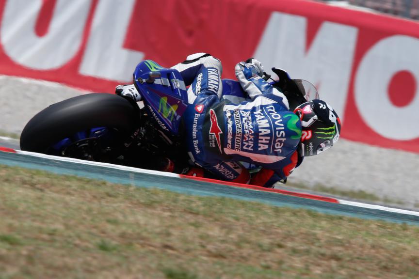 Jorge Lorenzo, Movistar Yamaha MotoGP - Catalan GP, MotoGP FP4