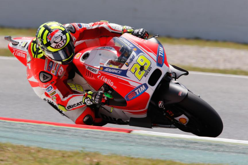 Andrea Iannone, Ducati Team - Catalan GP, MotoGP FP4