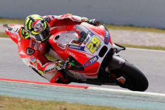 Iannone quickest in FP4 ahead of Marquez and Pedrosa