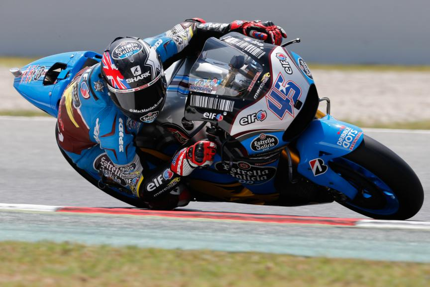Scott Redding, Estrella Galicia 0,0 Marc VDS- Catalan GP, MotoGP FP4