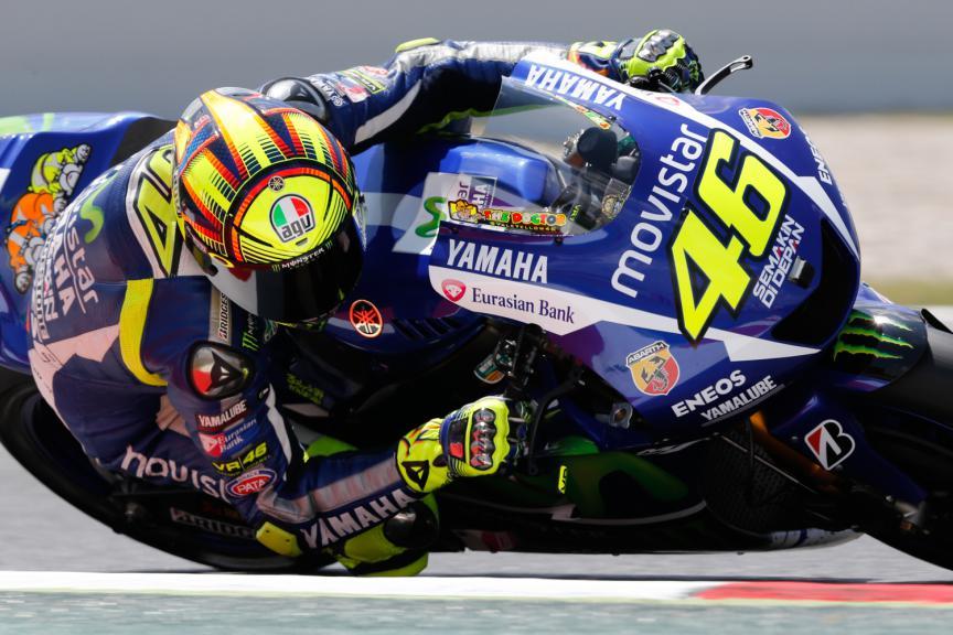 Valentino Rossi, Movistar Yamaha MotoGP - Catalan GP, MotoGP Q2