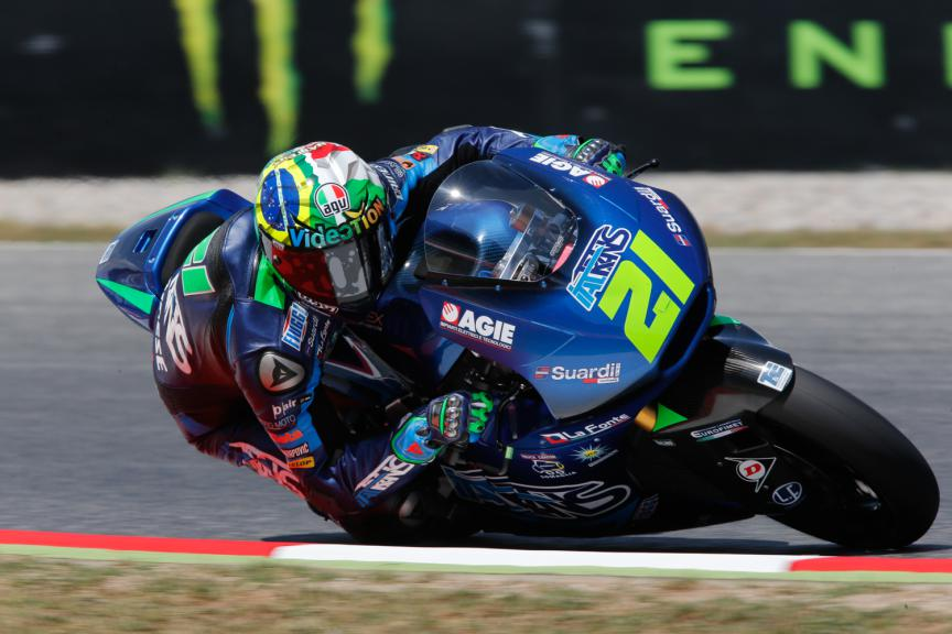 Franco Morbidelli, Italtrans Racing Team - Catalan GP, Moto2 QP