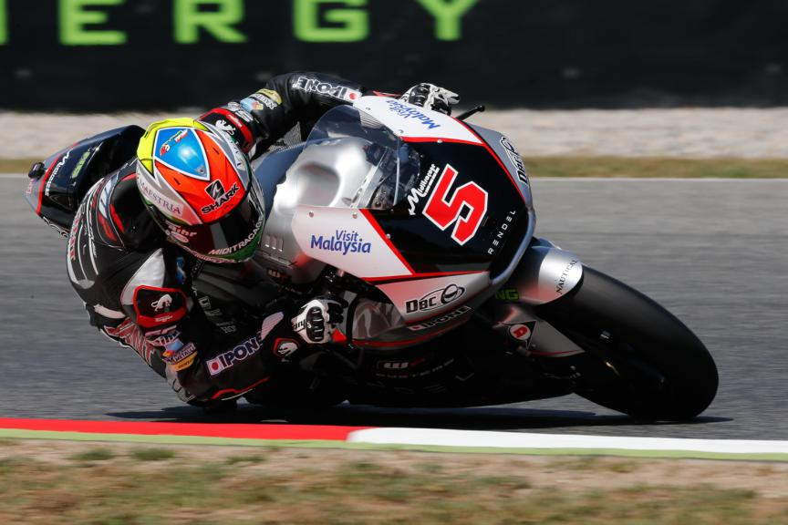 Johann Zarco, Ajo Motorsport - Catalan GP, Moto2 QP