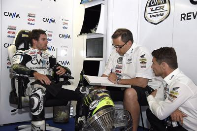 "Crutchlow: ""I think we're set up well for the race"""