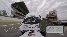 Experience a lap of the Circuit de Barcelona-Catalunya with motogp.com's Dylan Gray.