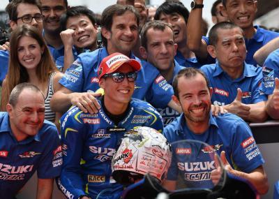 Suzuki auf der Suche nach mehr Leistung erfolgreich!