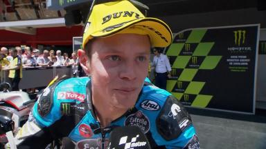 'It was a difficult race'