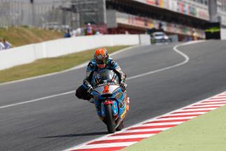 "Rabat: ""I ran wide on the last lap"""